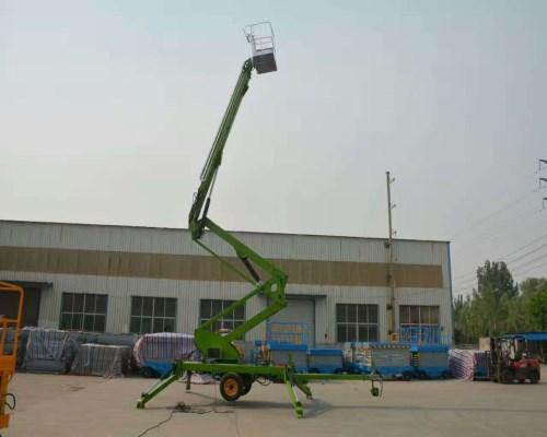 拖车折臂式升降机