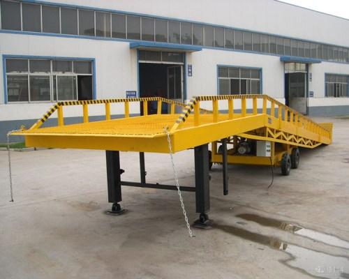 电动10吨登车桥